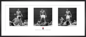 Muhammad Ali (Liston Triptych) by Anonymous