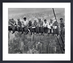 Lunch Atop a Skyscraper, 1932 by Charles C. Ebbets