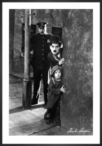 Charlie Chaplin (The Kid) by Anonymous