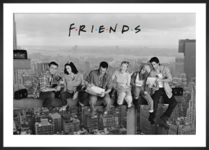 Friends (Lunch on a Skyscraper) by Anonymous