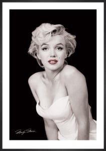Marilyn Monroe (Red Lips) by Anonymous