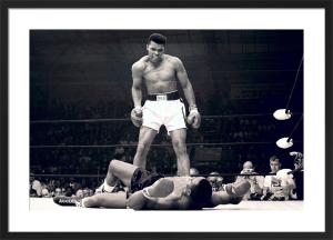 Muhammad Ali (v Liston) by Celebrity Image