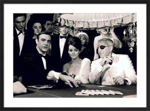 James Bond (Thunderball Casino) by Celebrity Image