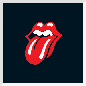 Rolling stones (Lips) by Celebrity Image