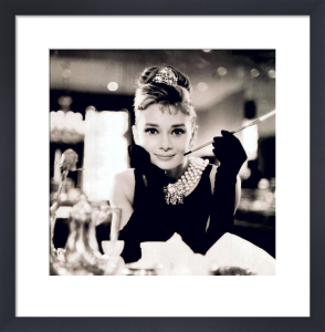 Audrey Hepburn (B&W) by Anonymous
