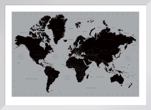 World Map (Contemporary) by Anonymous