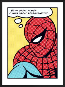 Spider-man (Pop Art) by Marvel Comics