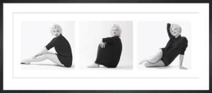 Marilyn Monroe (Sweater Triptych) by Celebrity Image