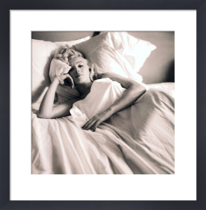 Marilyn Monroe (Bed) by Celebrity Image