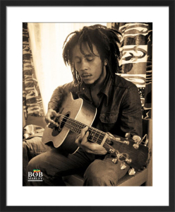 Bob Marley (Sitting) by Anonymous