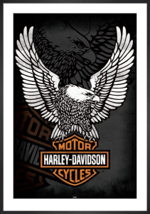 Harley Davidson (Eagle) by Anonymous