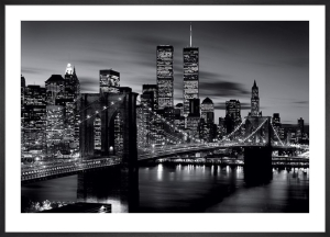 Brooklyn Bridge (B&W) by Anonymous
