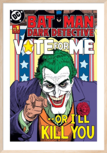 Joker (Vote For Me) by DC Comics