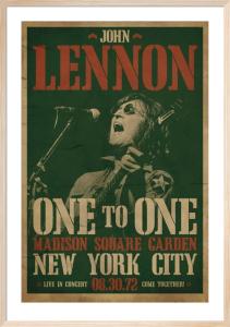 John Lennon (Concert) by Anonymous