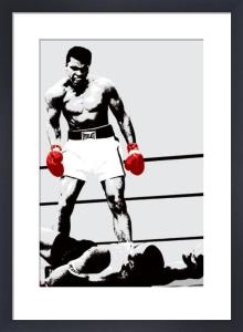Muhammad Ali (Gloves) by Celebrity Image