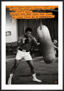 Muhammad Ali (Punchbag) by Anonymous