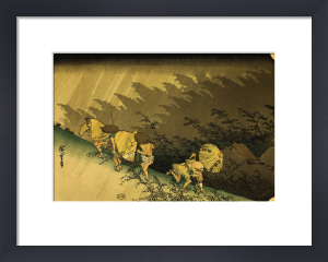 Shono - from fifth-Tree Stations of the Tokaido Road by Ando Hiroshige