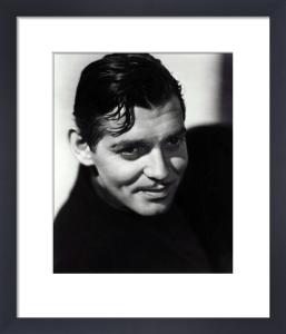 Clark Gable by Carl de Voy
