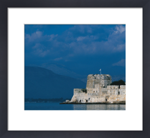 Bourtzi castle in the Harbour of Nafplio, Greece by Danita Delimont