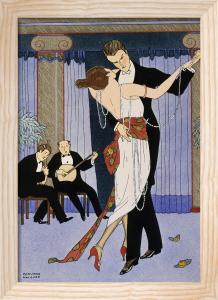 Couple dancing, 1919 by Edouard Halouze