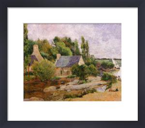 Les Lavandieres a Pont-Aven by Paul Gauguin