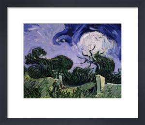 Chaumes de Cordeville à Auvers-sur-Oise, 1890 (Detail) by Vincent Van Gogh