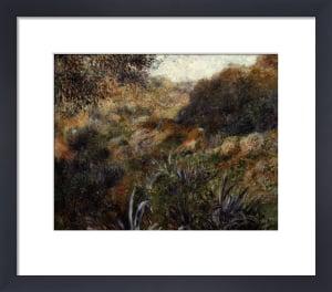 Algerian landscape, the ravine of the wild woman, 1881 by Pierre Auguste Renoir