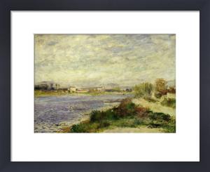 The river Seine at Argenteuil, Val d'Oise, 1868 by Pierre Auguste Renoir