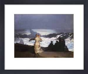 Summer Night, 1890 by Carl Hermann Kuechler