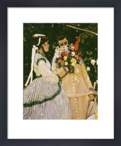 Women in the garden, 1867 by Claude Monet