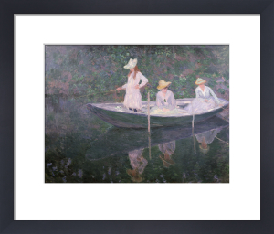 Boat the 'Norvegienne' at Giverny, France, c. 1887 by Claude Monet