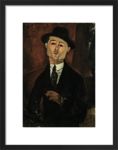 Portrait of Paul Guillaume by Amedeo Modigliani
