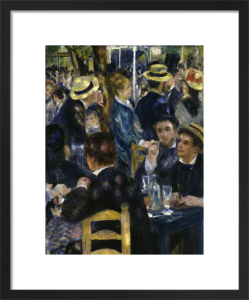 Ball at the Moulin de la Galette, 1876 by Pierre Auguste Renoir
