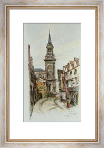 Oxford, All Saints Church (Restrike Etching) by Edward Slocombe