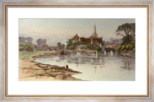 Abingdon (Restrike Etching) by Wilfred Ball