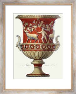 Vases - Pl. XII (T'cotta) (Restrike Etching) by Anonymous