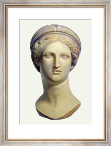 Marble Bust - Pl.XL (Restrike Etching) by Edward Henry Corbould