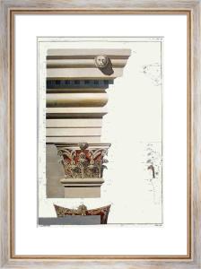 Column - Myra Pl.XXX (Restrike Etching) by Francis Bedford