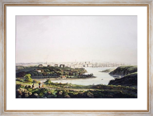 City of Aberdeen (Restrike Etching) by IH Clark
