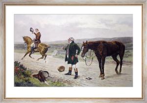 Exchange No Robbery (Restrike Etching) by William Barnes Wollen