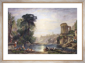 Tivoli, A Composition (Restrike Etching) by Joseph Mallord William Turner