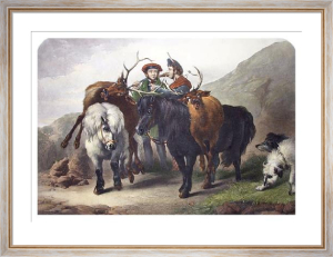 Successful Deerstalkers (Restrike Etching) by James Bateman