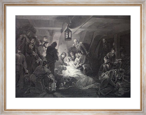 Death of Nelson (Restrike Etching) by William Henry Davis