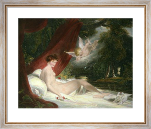 Venus and her Doves (Restrike Etching) by Richard Westall