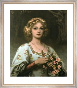 Fair Rosamond (Restrike Etching) by William Clark Wontner