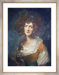 Miss Lindley (Restrike Etching) by Thomas Gainsborough