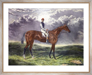 Dutch Oven (Racehorse) (Restrike Etching) by Walter Hunt