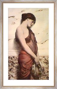 Dancing Girl (Restrike Etching) by John William Godward