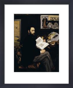 Emile Zola by Edouard Manet