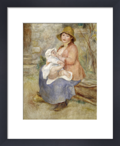 Mother's Joy by Pierre Auguste Renoir